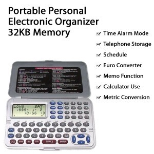 50 X Portable Personal Electronic Organizers with 32KB Memory Handheld Office Home use