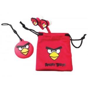 24 x Red Angry Birds Bird Buds Gamer Earphones Headphones NEW LOWER PRICE