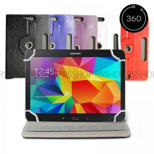 20 x Assorted Colours 8�  Android Tablet Folio Leather Flip Case Cover Universal 360 Rotating