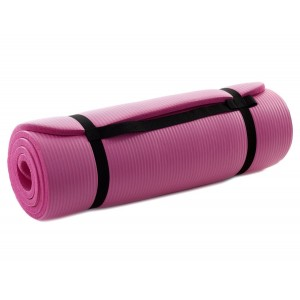 10x Yoga Mat Heavy Duty Non Slip 10mm Extra Thick 181cm Long in Pink  £2.50 Per Unit