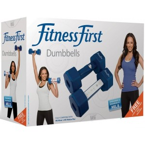 6 x Pairs of Fitness First Workout Dumbbells for Nintendo Wii - Fit Fitness Weight Training